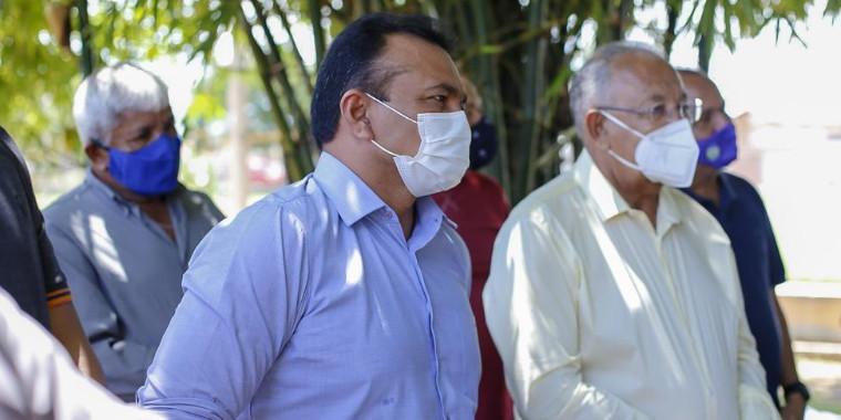 Fábio Abreu e Drº Pessoa anunciam construção de campos de futebol