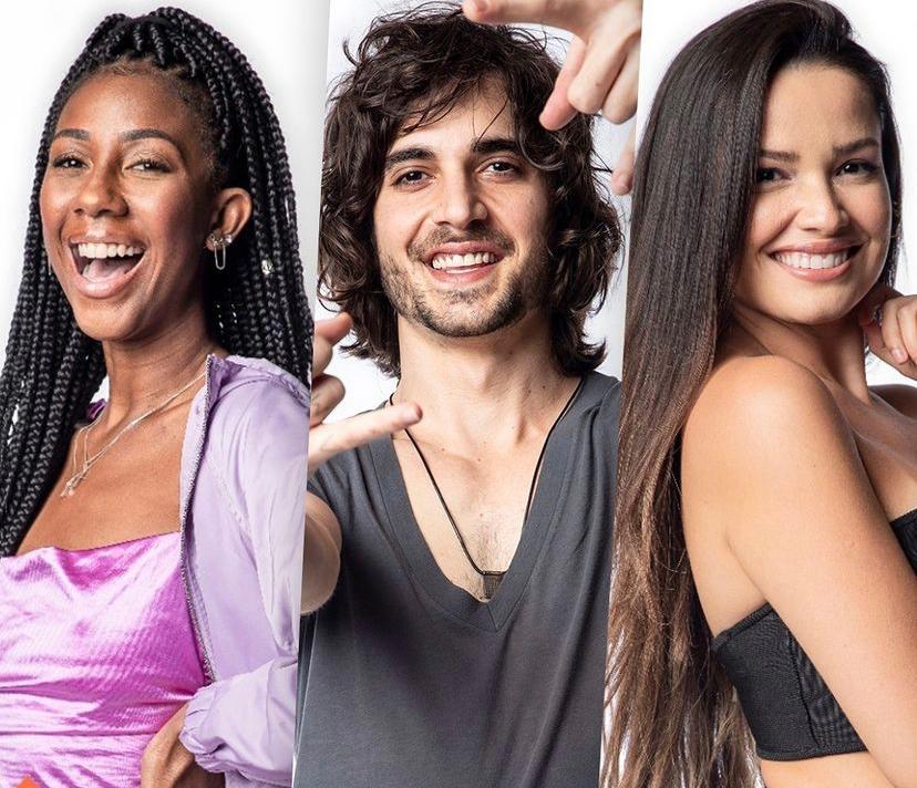 Camilla, Fiuk e Juliette são os grandes finalistas do BBB 21