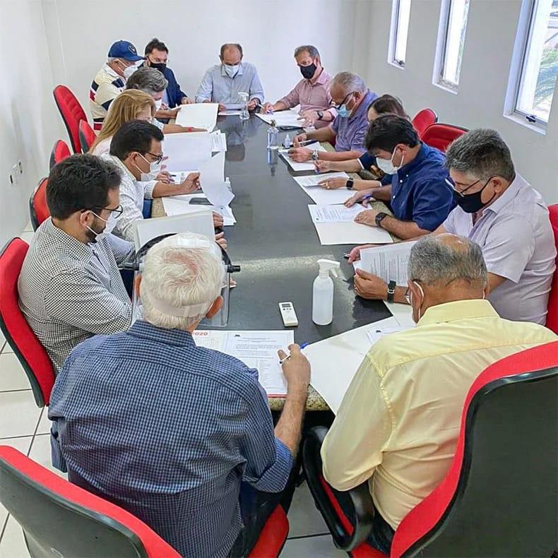 LIderanças estiveram reunidas para definir estratégias para 2022