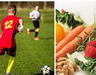 Saiba o que os jogadores de futebol comem e o que não podem comer