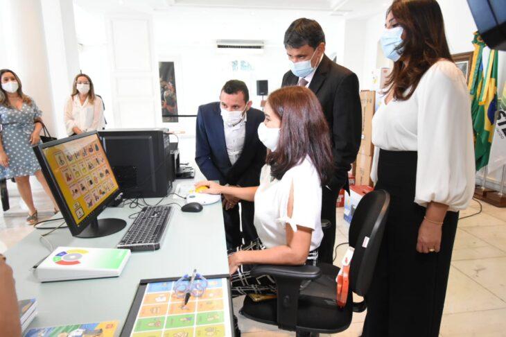 Governador Wellington Dias fez entrega de equipamentos para educação especial