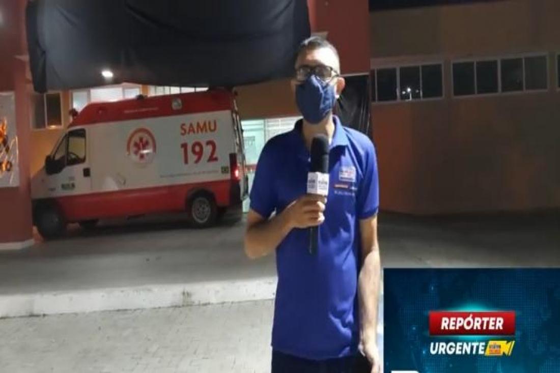 Idoso fica preso às ferragens de carro após colidir com caminhão na PI-216