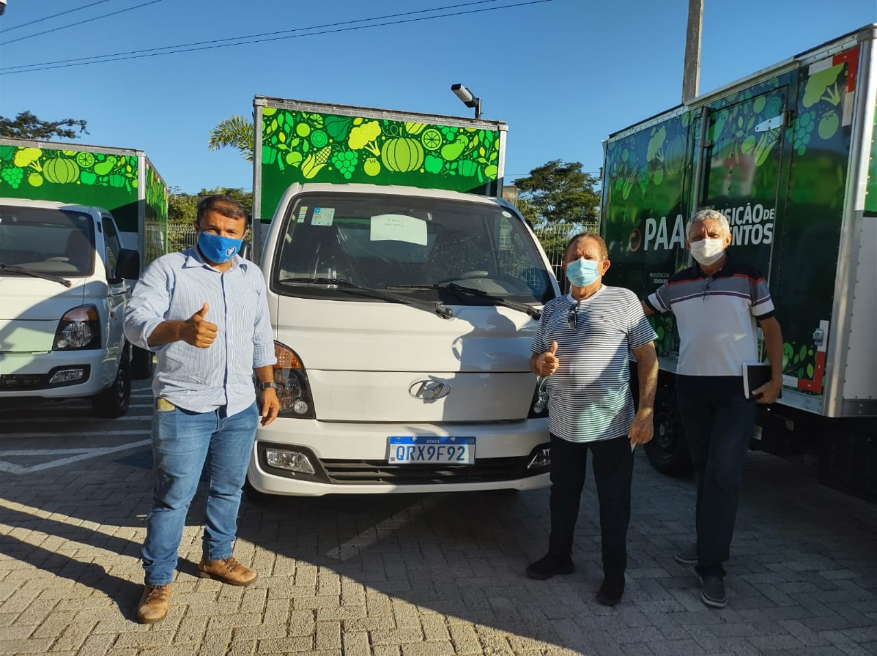 Dr. Wagner leva projetos para Sen. Ciro e recebe veículo para agricultura  - Imagem 1