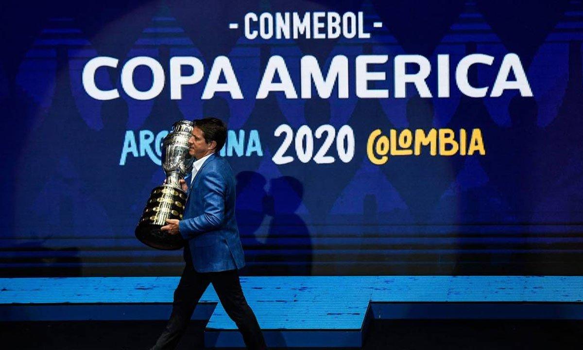 """Brasil foi eleito o """"país da Copa América"""" - Foto: Juan Barreto/AFP"""