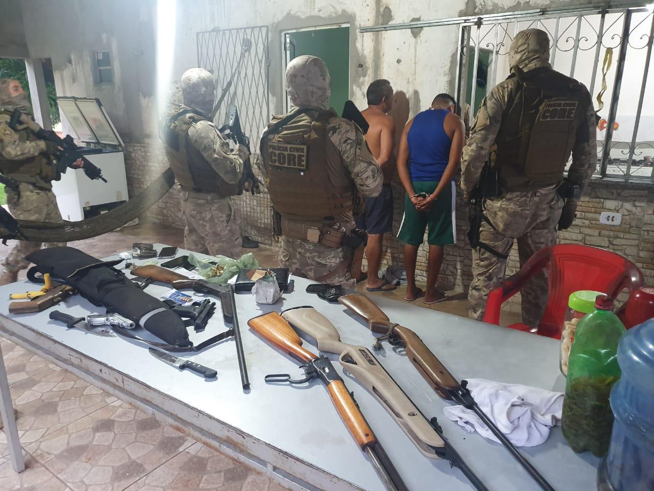 Polícia deu cumprimento a três mandados de prisões com relação ao crime - Foto: Divulgação/Polícia Civil