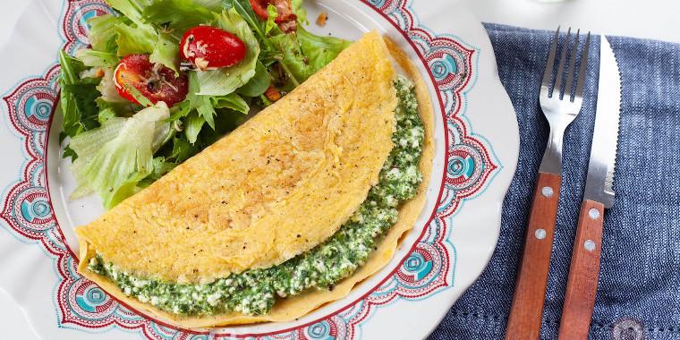 Aprenda como fazer crepioca salgada com dois ingredientes
