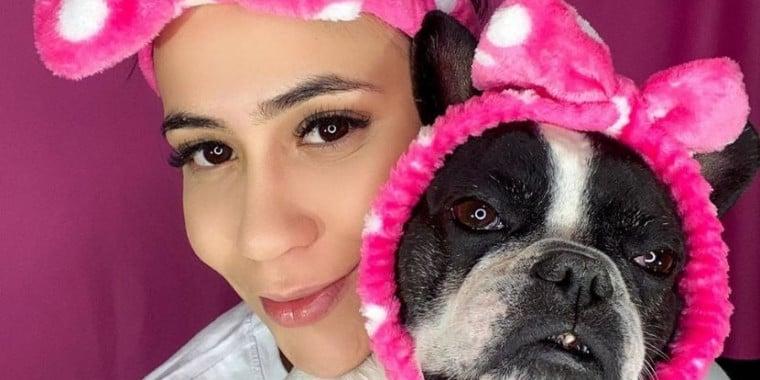 Conheça Kiliquinha, a cachorrinha que conquistou as redes sociais