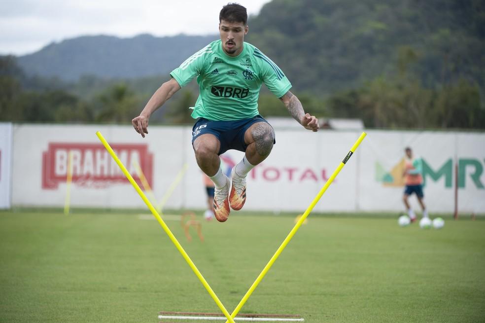 Matheus Thuler Flamengo — Foto: Alexandre Vidal / Flamengo