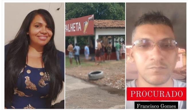 Mulher foi morta pelo ex-marido em avenida