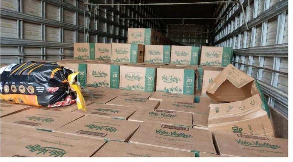 Durante a operação, carga roubada foi recuperada em posse dos empresários no Maranhão - Foto: Divulgação