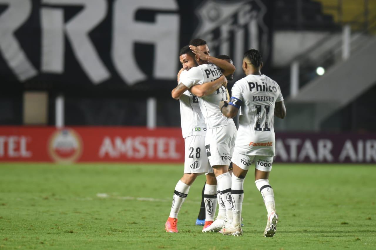 Santos goleou a equipe do The Strongest na última terça - Foto: Reprodução/Twitter/Santos