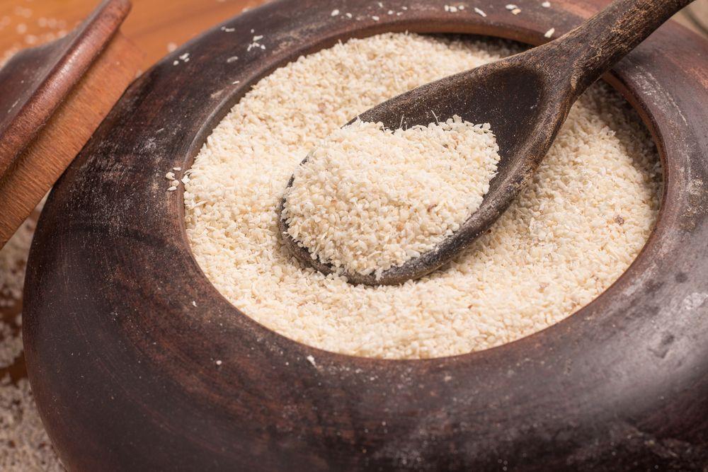 Farinha de mandioca (Foto: reprodução)