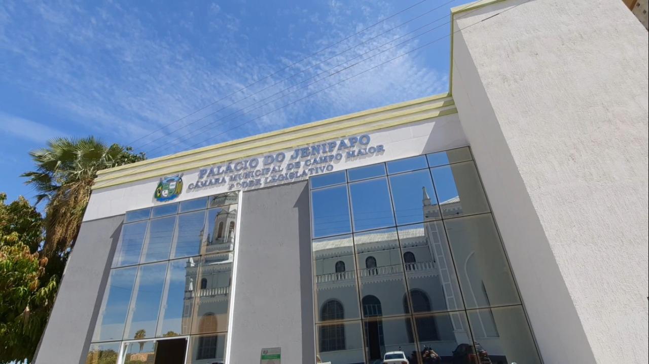 Câmara de Vereadores de Campo Maior (Foto: Hélder Felipe/ Portal Meio Norte)