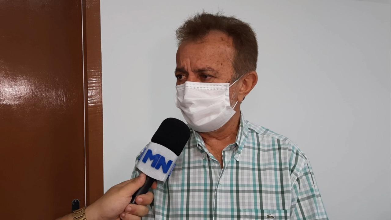 Atual prefeito de Campo Maior Joãozinho Félix (Foto: Hélder Felipe/ Portal Meio Norte)