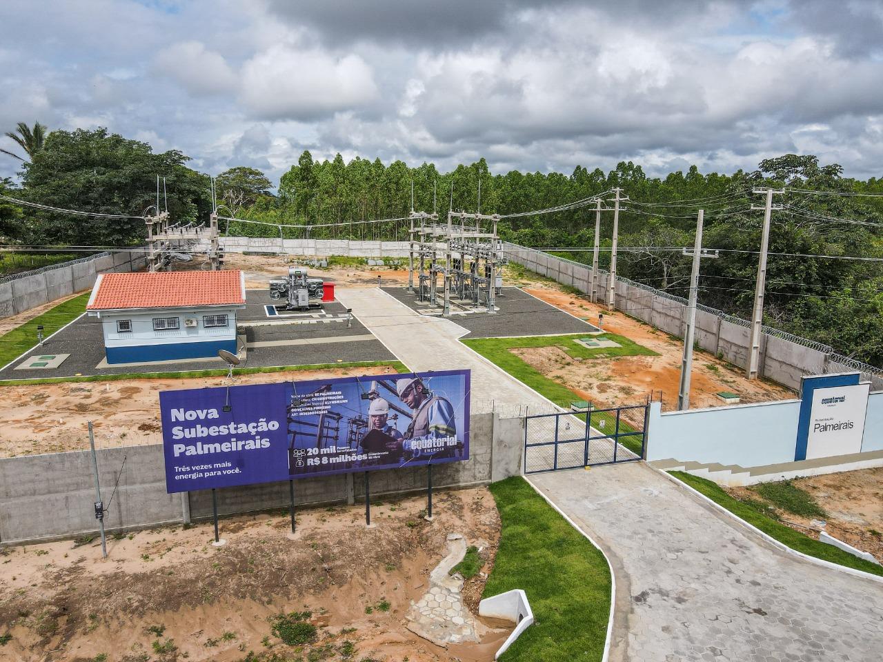 Equatorial Piauí energiza nova subestação em Palmeirais- Foto: Equatorial
