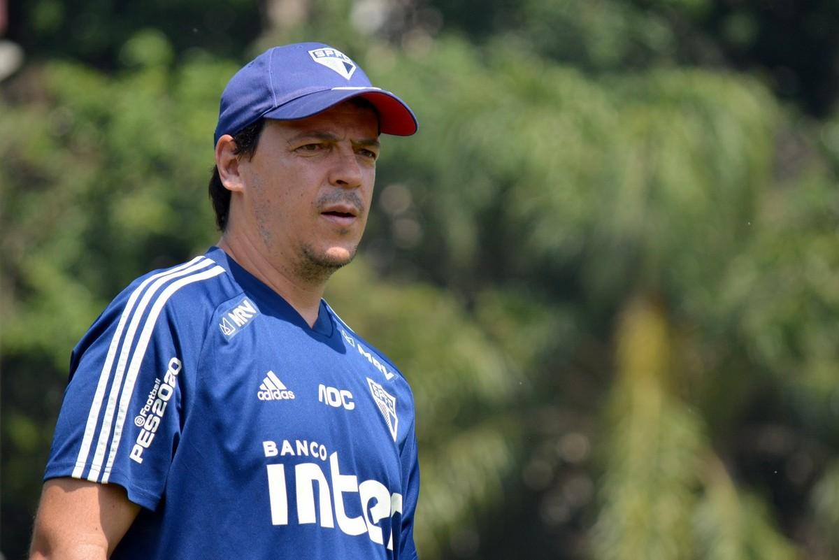 Fernando Diniz está sendo sondado pelo Santos - Foto: Érico Leonan/São Paulo