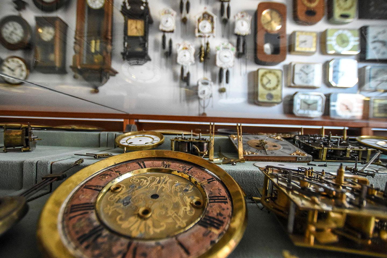 Museu dedicado aos relógios