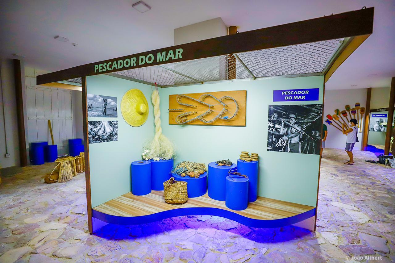 Museu do Mar, em Parnaíba (Foto: João Albert|)