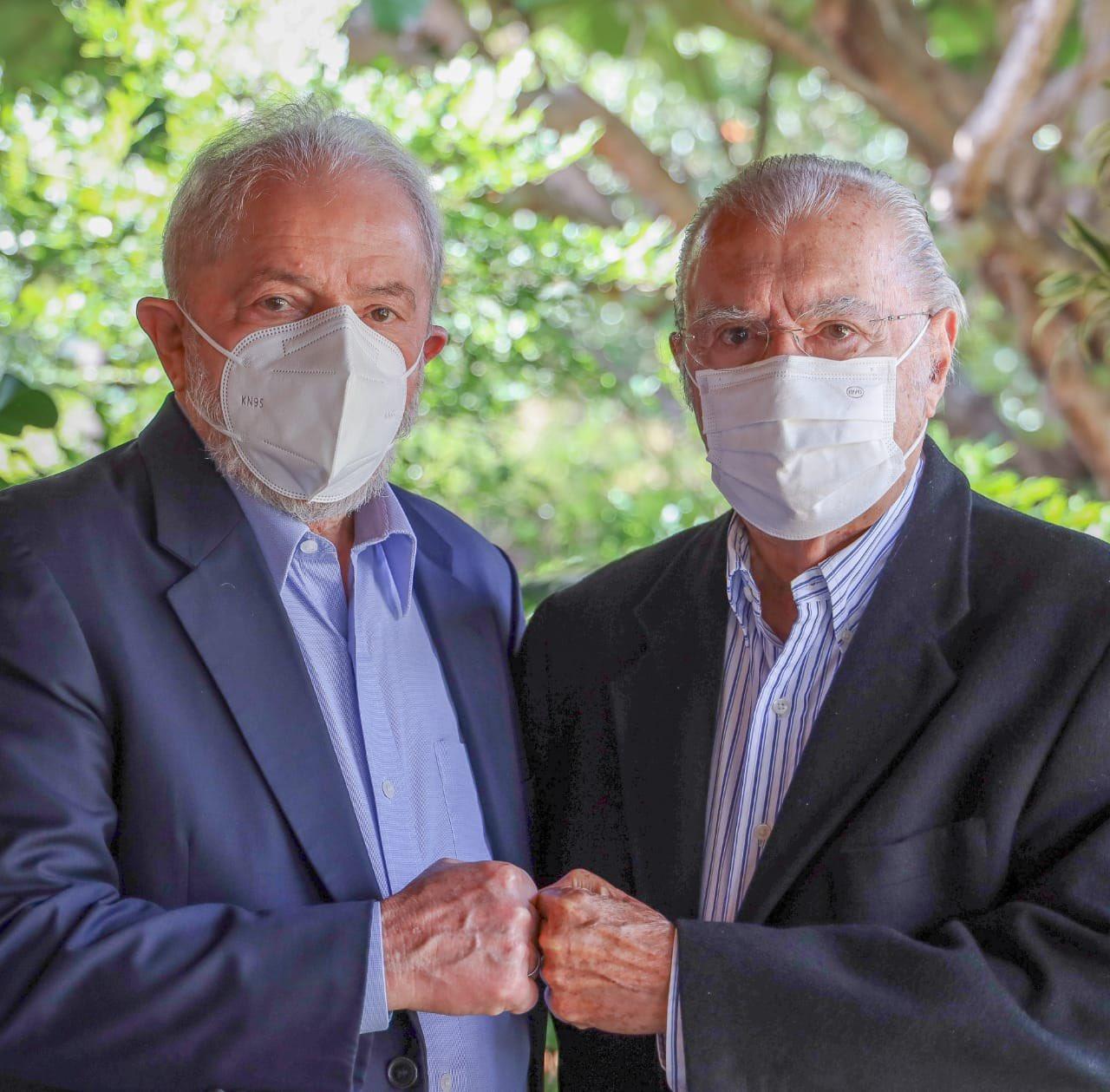 Lula e José Sarney em encontro em Brasília - Foto: Divulgação