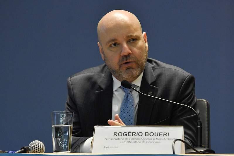 Subsecretário de Política Agrícola e Negócios Ambientais do Ministério da Economia, Rogério Boueri