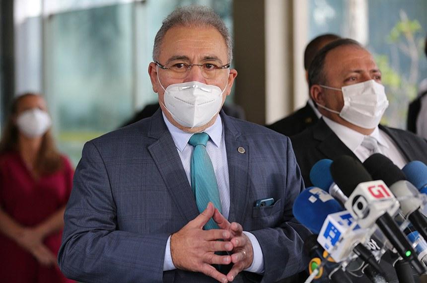 Ministro Marcelo Queiroga será ouvido na CPI (Marcello Casal Jr./Agência Brasil)