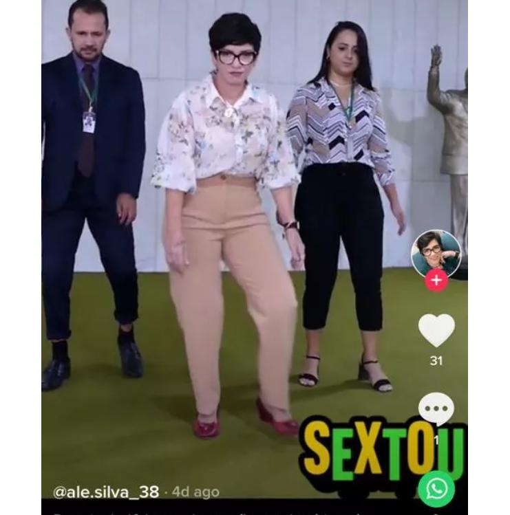 Deputada do PSL-MG, Alê Silva recebeu duras críticas com postagem dançando na Câmara-Reprodução Redes sociais