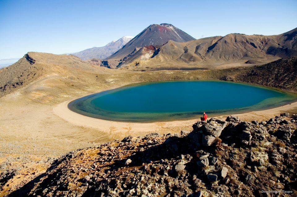 Parque Nacional Tongariro um dos Patrimônios da Humanidade/Lake Taupo