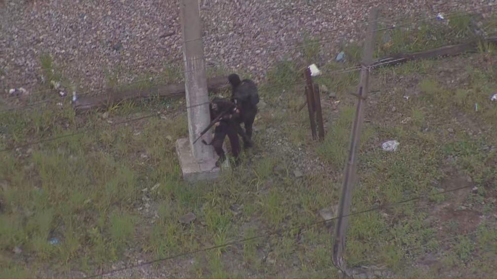 Polícia faz operação no Jacarezinho - Foto: Reprodução