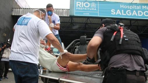 Operação com tiroteio deixa 15 mortos no Rio