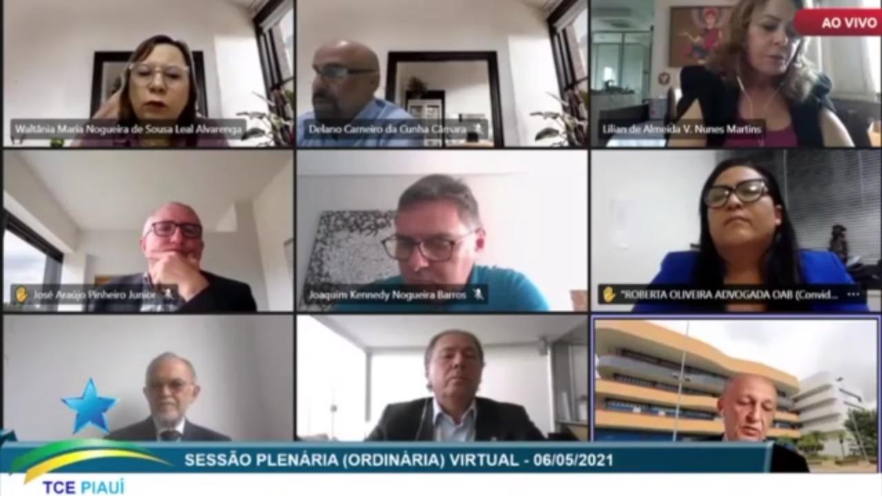 Funcionamento do Diário Oficial das Prefeituras Piauienses foi aprovado pelo TCE/PI. Imagem: Reprodução/Rede Meio Norte