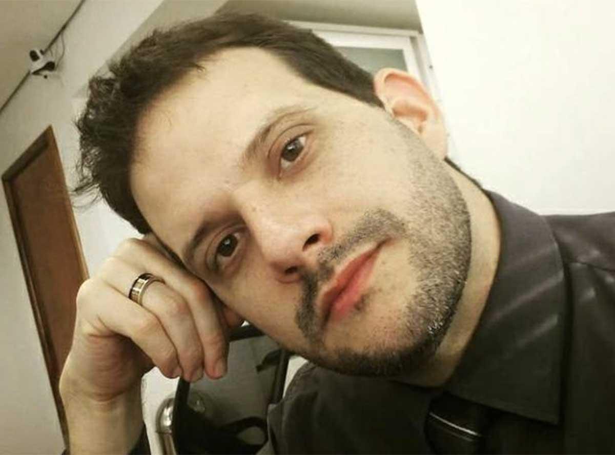 Márcio Onofre contraiu a Covid-19 em março e não resistiu às complicações (Foto: Reprodução)