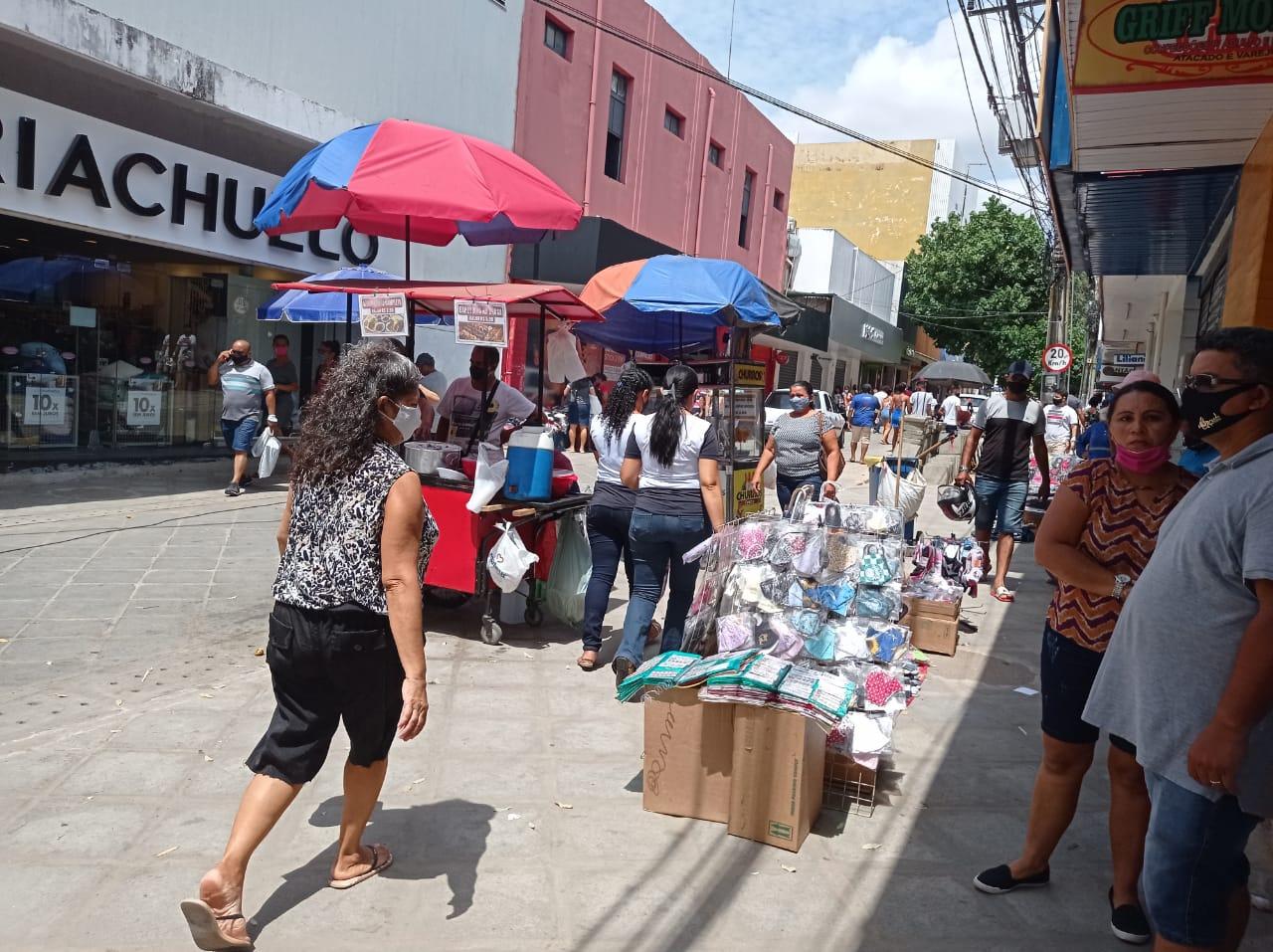 Funcionamento do comércio em Teresina será limitado em 9 horas durante o dia (Foto: Efrém Ribeiro)