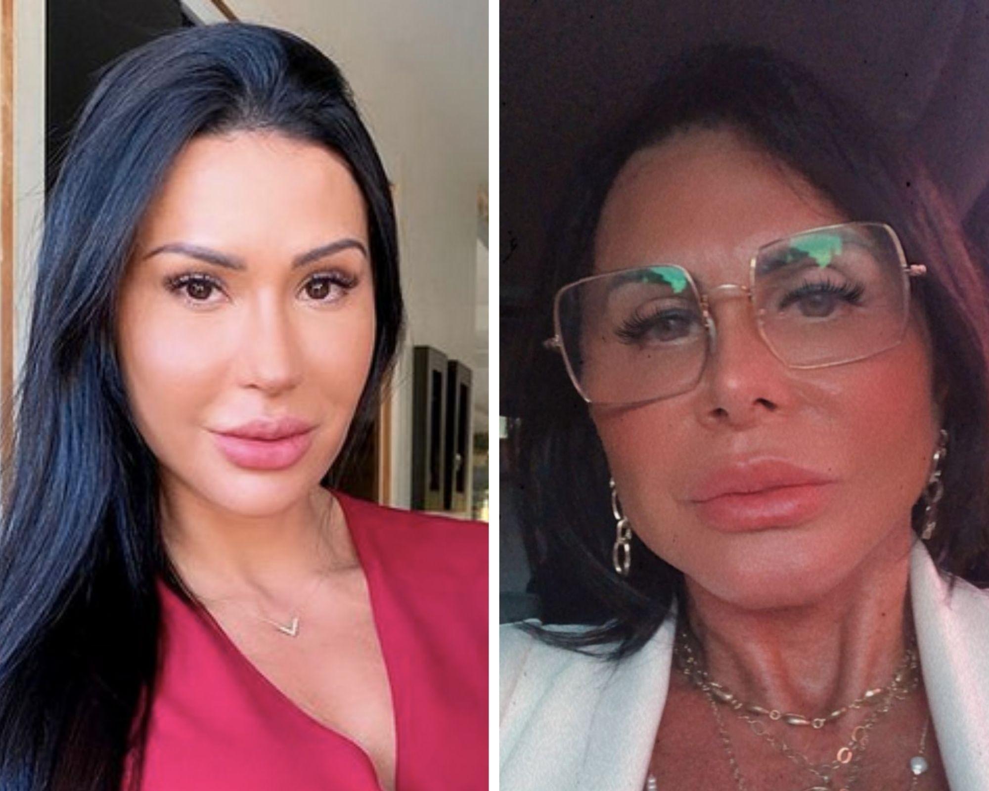 Gracyane e Gretchen: fãs vivem apontando semelhança entre as duas (Foto: Reprodução/Instagram)