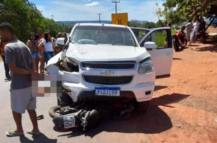 Professora morre após ser atropelada por veículo em Corrente (Foto: Reprodução/ Portal Corrente)