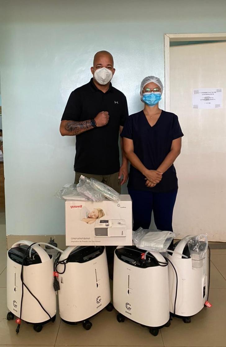 Whinderson Nunes envia doações para o Hospital Justino Luz, em Picos