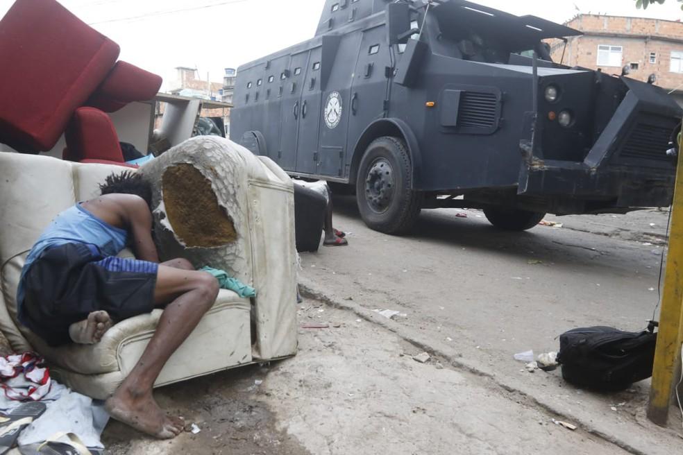Operação no Jacarezinho (Foto: Reginaldo Pimenta/Agência O Dia/Estadão Conteúdo)