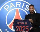 Jogador Neymar continua com o PSG; Contrato vai até 2025