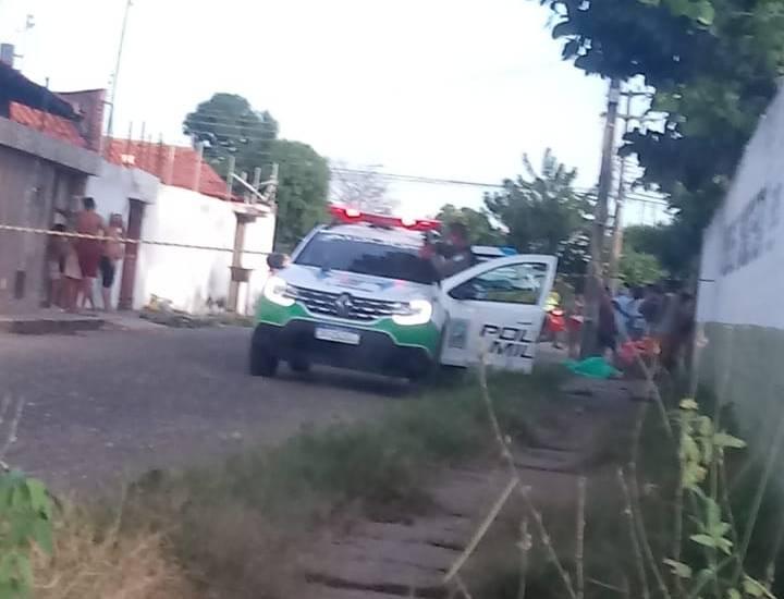 Carroceiro de 19 anos é morto a tiros na zona Norte de Teresina (Foto: Reprodução/ WhatsApp)