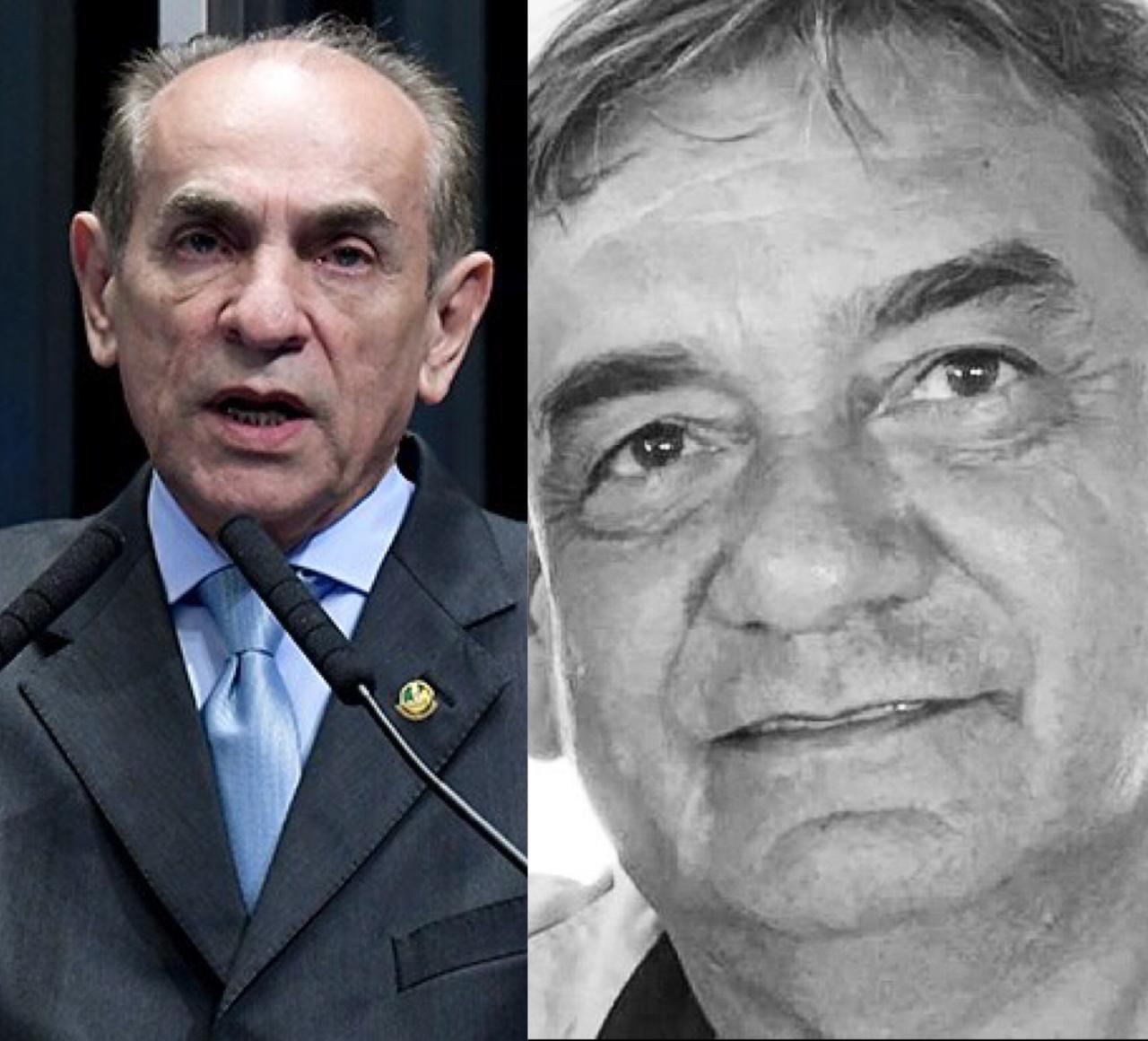 Senador Marcelo Castro lamentou a morte do irmão, o médico Flávio Castro