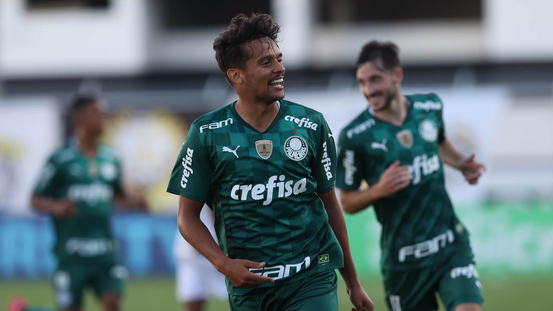 Palmeiras derrotou a Ponte Preta (Cesar Greco/Agência Palmeiras)