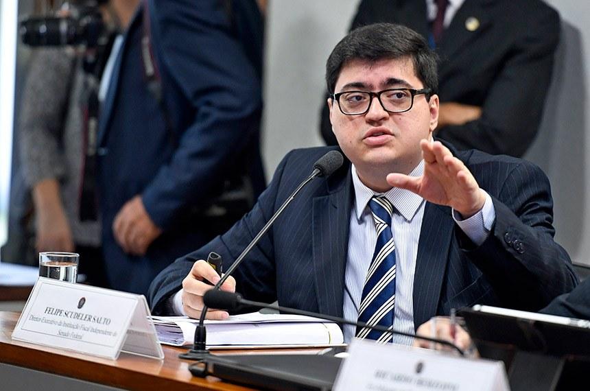 O economista Felipe Salto, diretor da IFI (Instituição Fiscal Independente), do Senado - Foto: Agência Senado