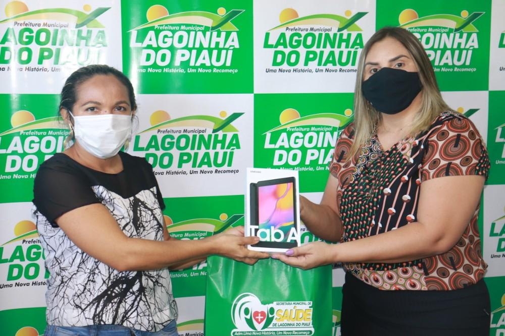 Prefeitura de Lagoinha entrega Tablets para ACS do Município - Imagem 6