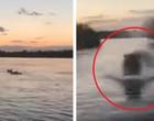 Embarcação no Quênia é atacada por hipopótamo furioso; veja vídeo!