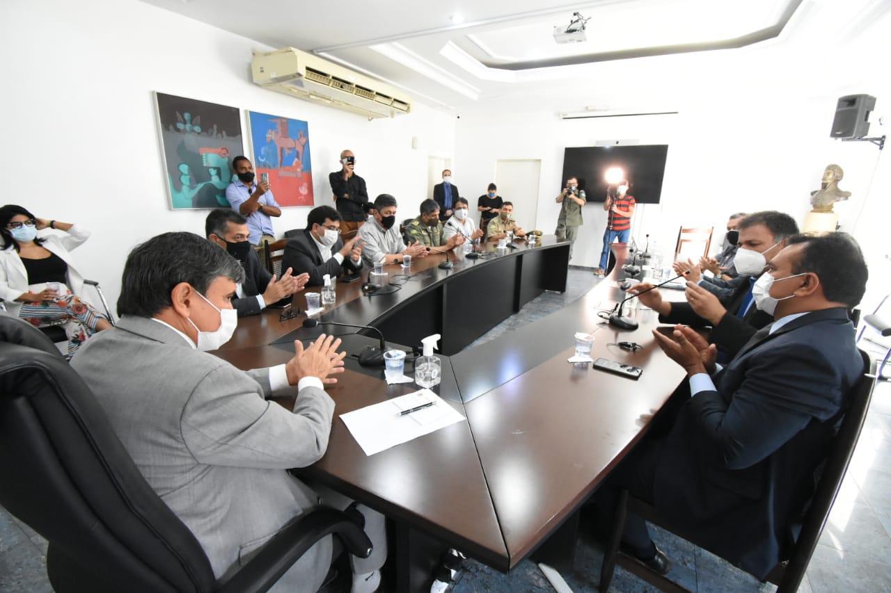Governo lança edital da Polícia Militar do Piauí (Foto: Ccom)