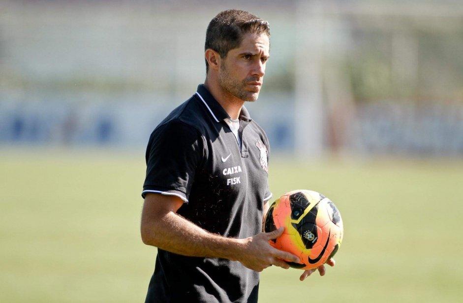 O treinador do Corinthians Sylvinho- Foto: Reprodução