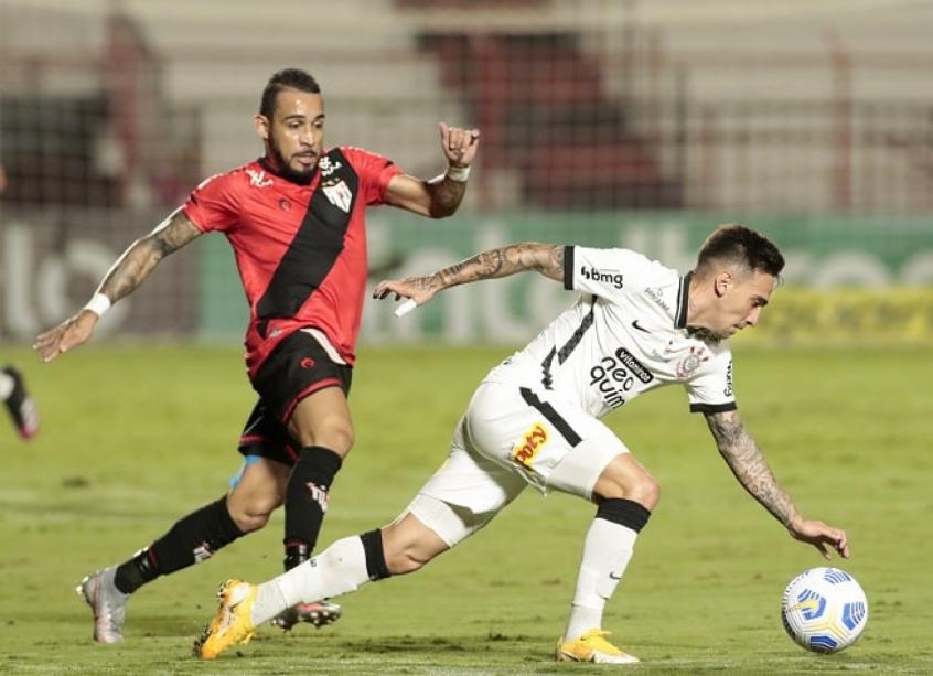 Corinthians parou no Atlético-GO e em seu próprio limite na Copa do Brasil (Foto: Rodrigo Coca/Ag. Corinthians)