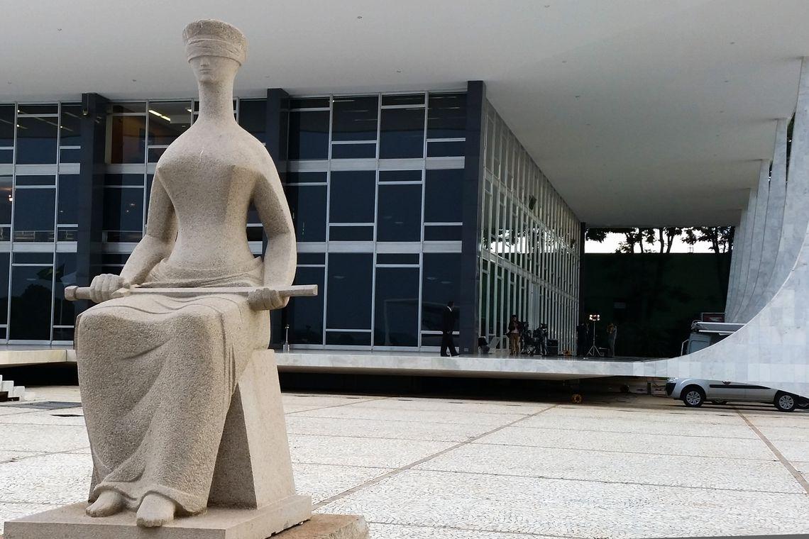 O julgamento acontece em plenário virtual, no qual os ministros inserem os votos por meio de sistema eletrônico - Foto: Agência Brasil