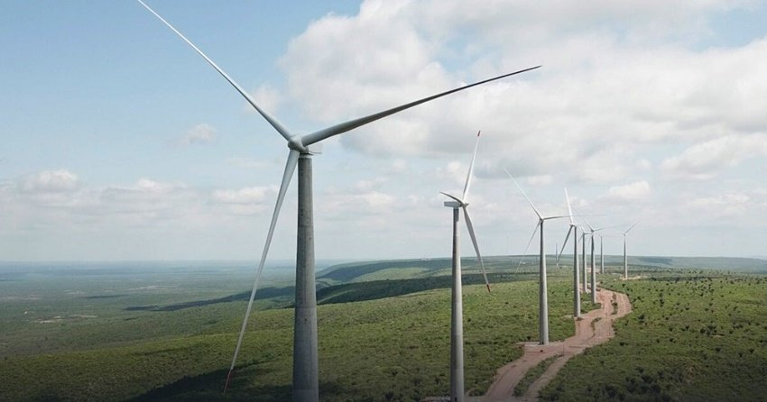 O parque eólico Lagoa dos Ventos - Foto: Divulgação