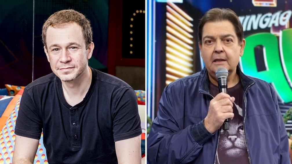 """Tiago Leifert vai apresentar o """"Domingão do Faustão"""" neste domingo (13) — Foto: TV Globo"""