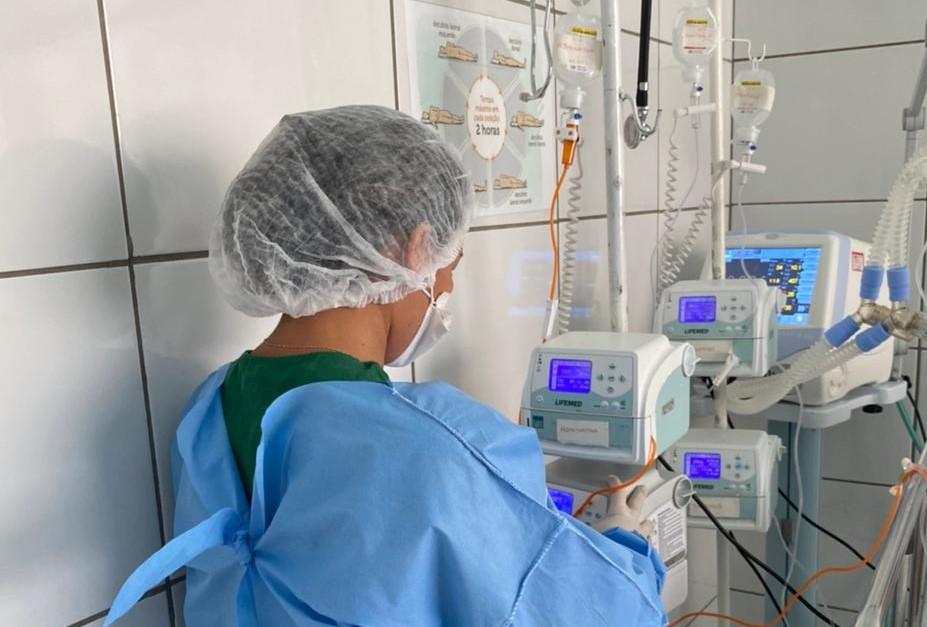 Hospital do Monte Castelo reduz média de permanência dos pacientes internados na UTÏ com Covid-19 (Foto: Ascom/FMS)